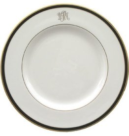 Pickard china Signature Monogrammed Dinner Plate