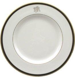 Pickard china Signature Monogrammed Dinner Plate
