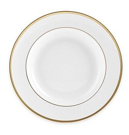 Pickard china Signature Monogrammed Soup Plate