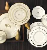 Pickard china Signature Monogrammed salad plate