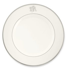 Pickard china Signature Monogrammed Salad Plate
