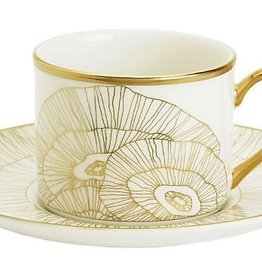 Pickard china Kelly Wearstler Hillcrest Cup and Saucer