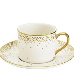 Pickard china Kelly Wearstler Trousdale Gold Cup and Saucer