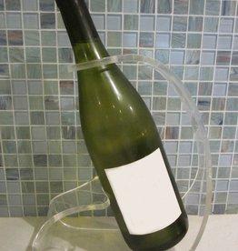 Acrylic Wine Bottle Holder