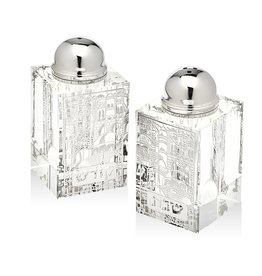 Sabbath Silver Salt and Pepper Shakers