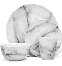 Godinger Silver Art Co Carrera Marble Dishes