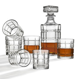 Plaid Whiskey Set