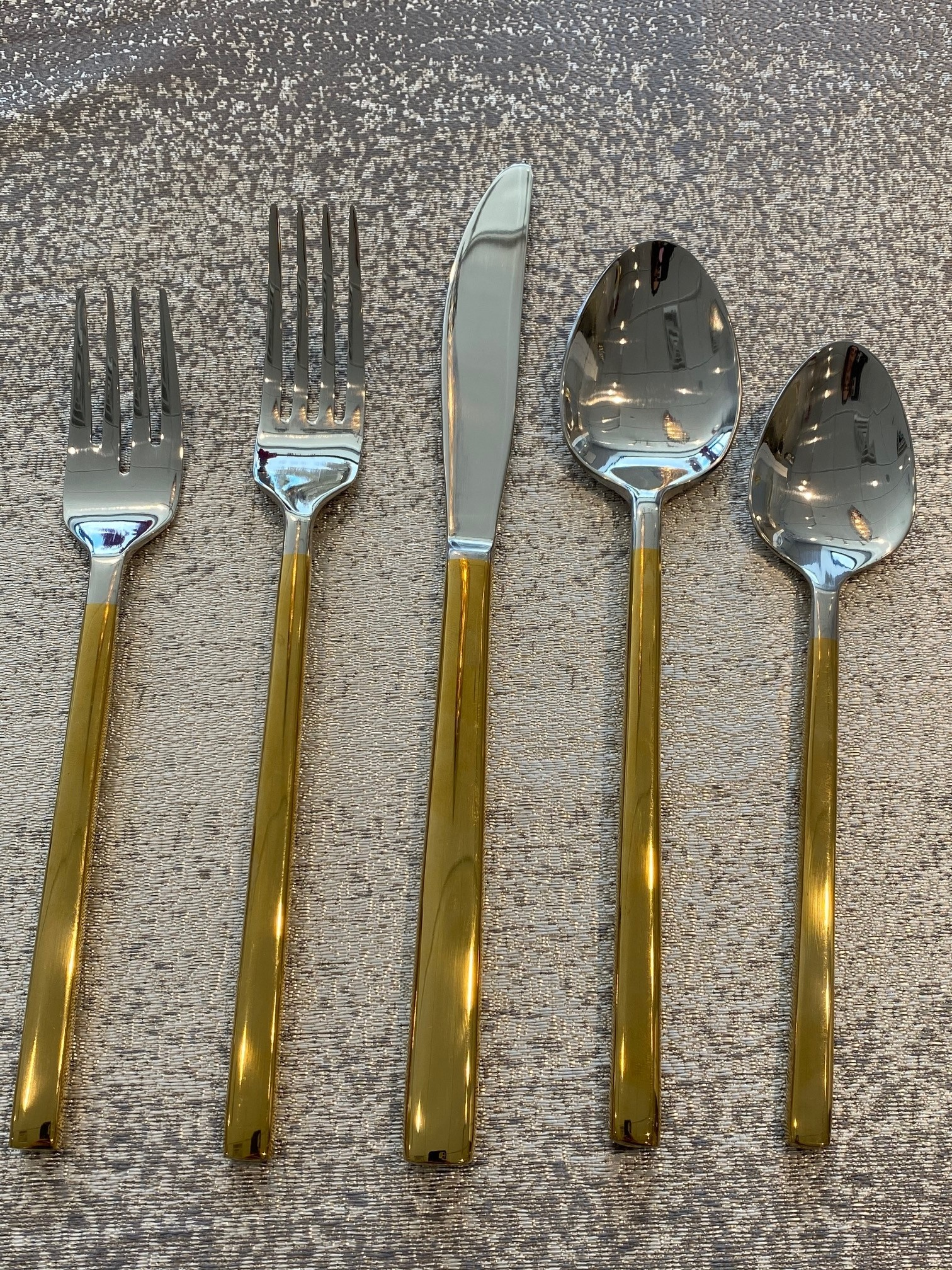Kyoto Half Shiny Gold Flatware