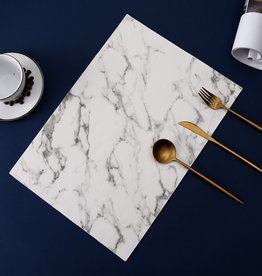 Marble Leather Placemat