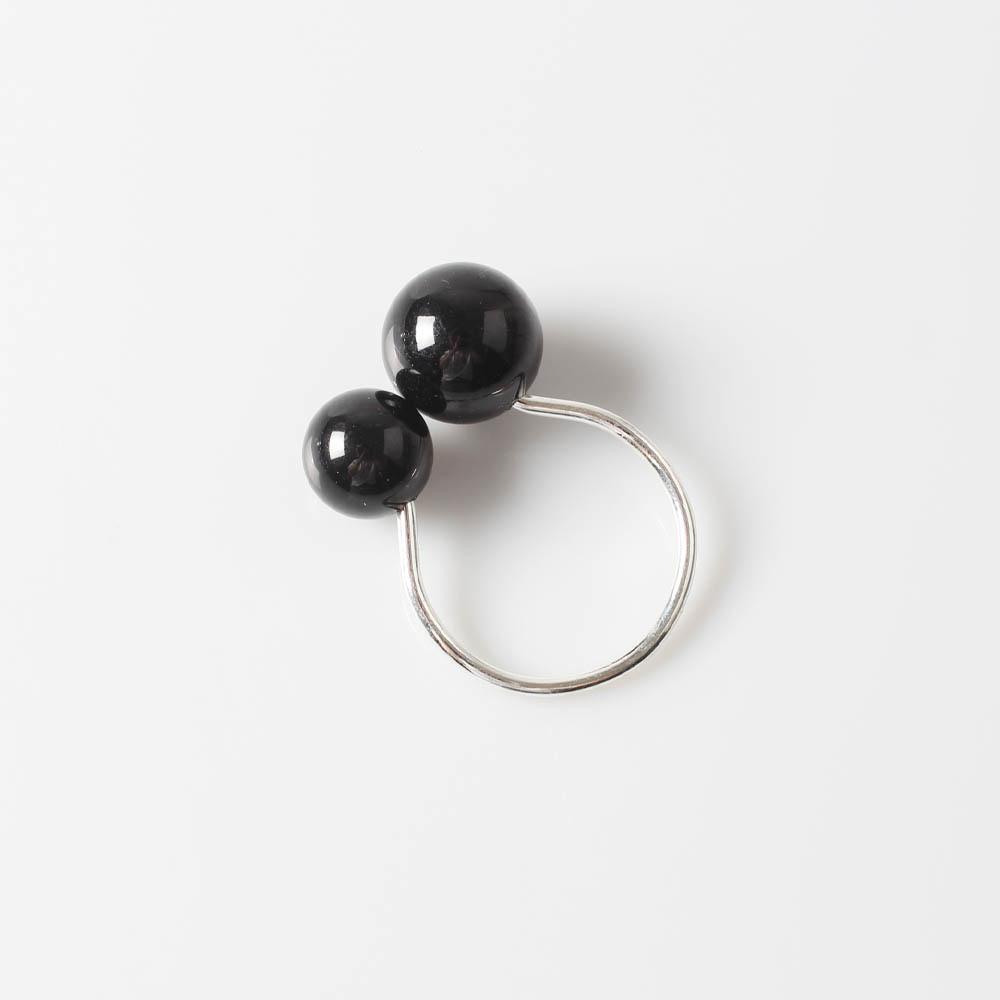 Black Pearl Napkin Ring