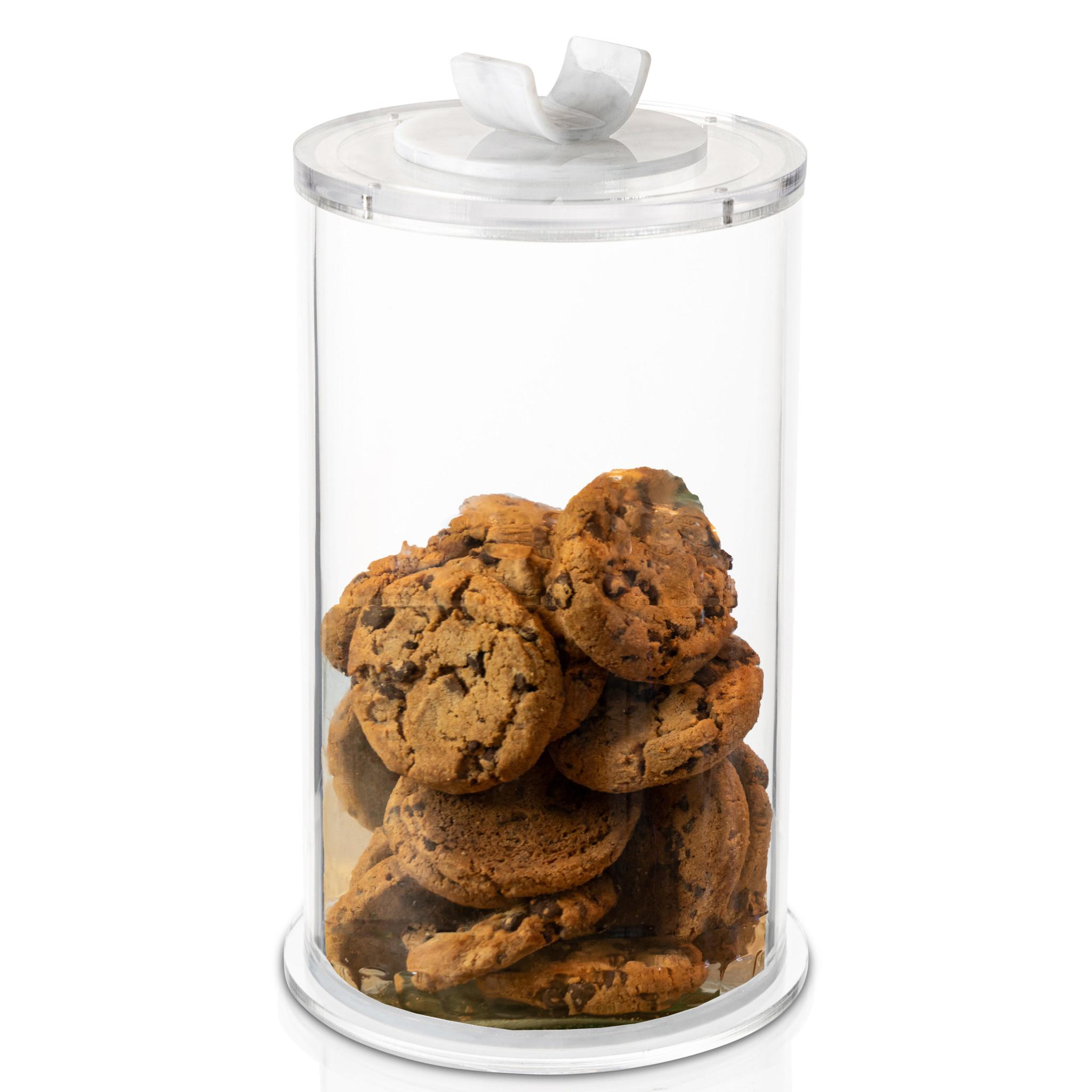 U Collection Round Marble Cookie Jar