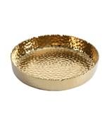 Millennium Gold Large Shallow Bowl