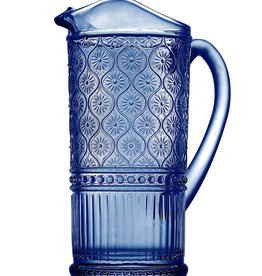 Blue Claro Pitcher