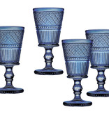Blue Claro Goblets s/4