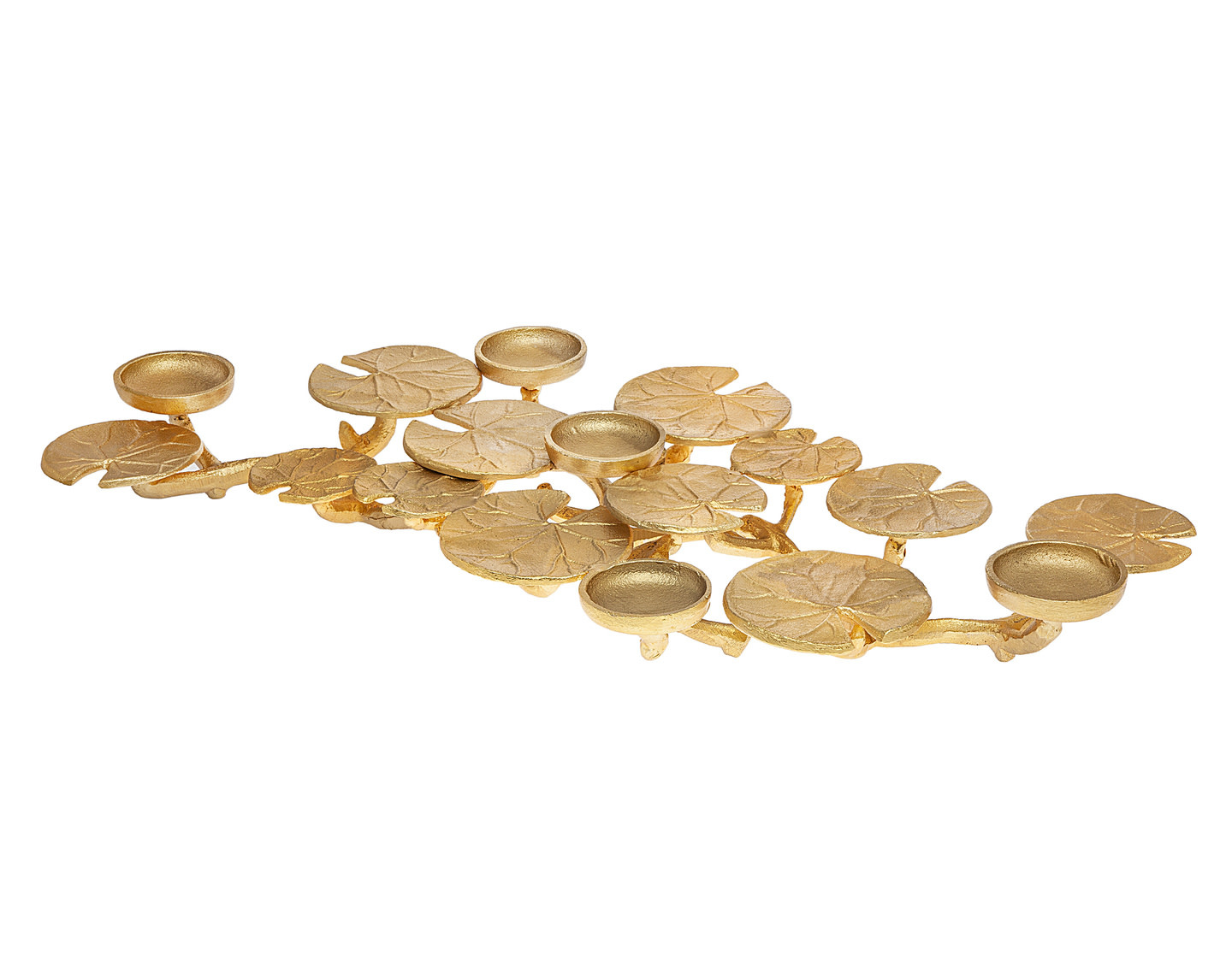 Lily Pad Gold Centerpiece