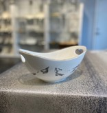 Marble Oval Bowl