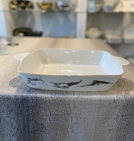"15.75"" Rectangle marble Oven to Table Dish"