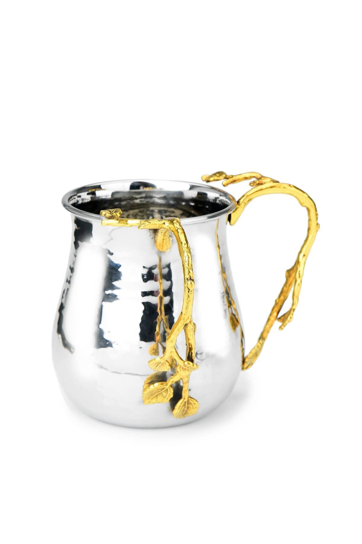 Gold Leaf Sprinkle Washing Cup