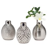 Pod Mini Ceramic Assorted Vases set of 3