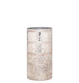 """Etched Line Gold Lusture 10"""" Vase"""