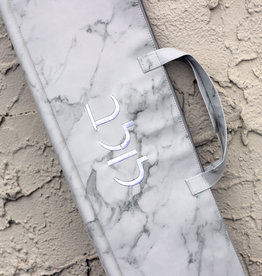 """Leather Lulav Case - Marble 46"""""""