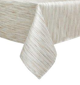 TC1313- 70 x 108 Jacquard Gold/Silver Tablecloth