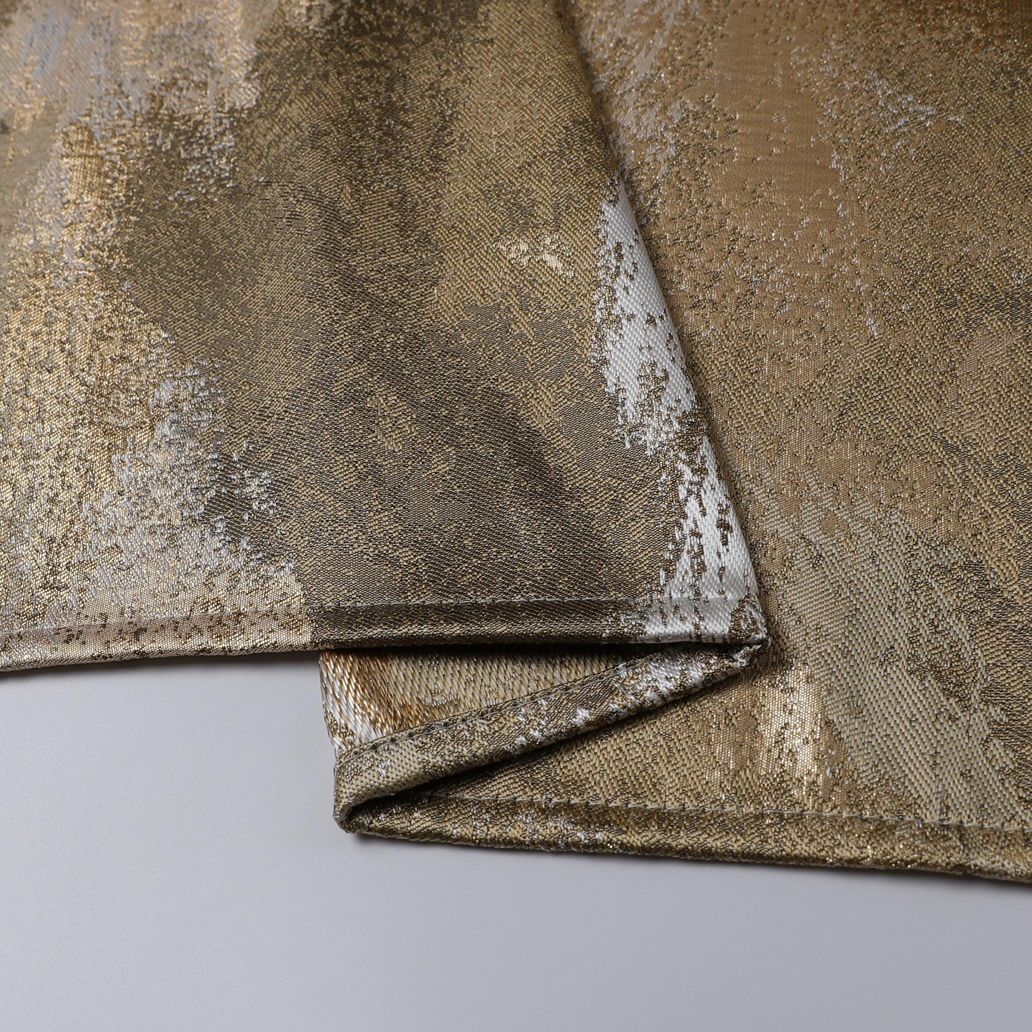 TC1201- 70 x 144 Jacquard Gold Tablecloth