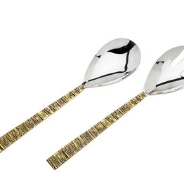 Ridge Gold Salad Servers