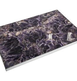 Purple Agate 16x 12 Challah Board