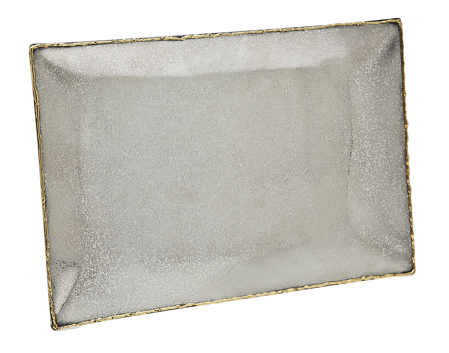 Golden Frost Rectangle Tray 16 x 8
