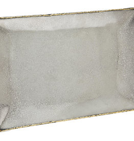 Golden Frost Rectangle Tray 12x 8