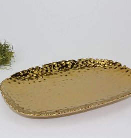 Small Gold Rectangle Platter