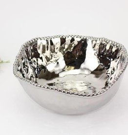 Ceramic Beaded Large Salad Bowl