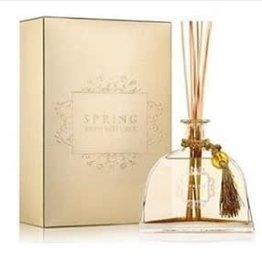 Reed Diffuser- White Flower Gold Glitter 340 ML