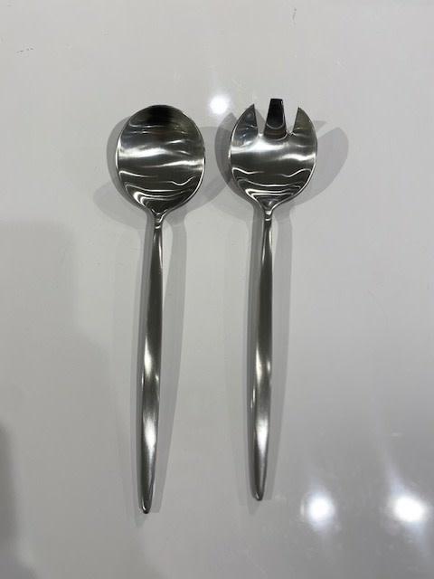 Tai Chi SS Matte Serving Spoons