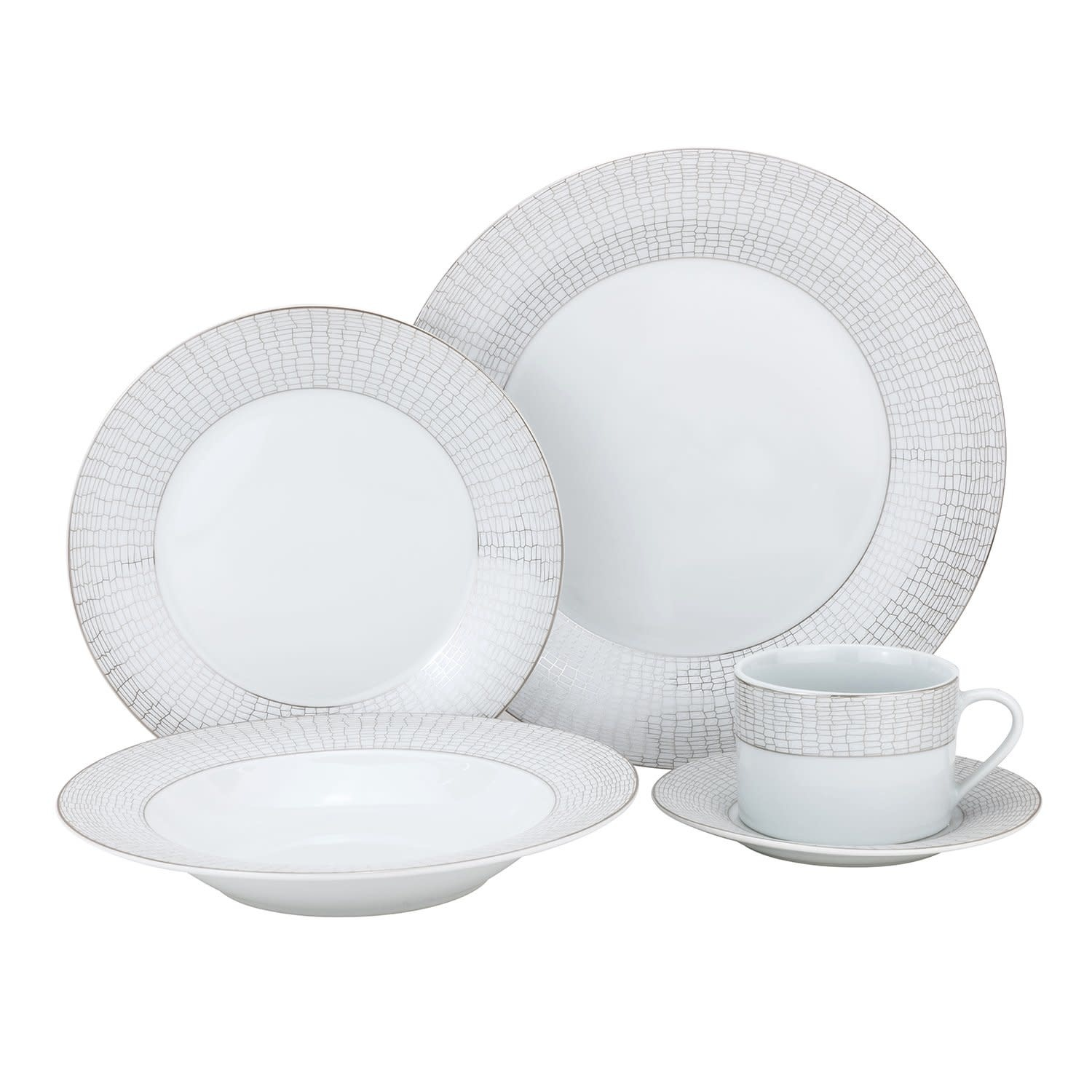 Croc 20 pc Dinnerware Set