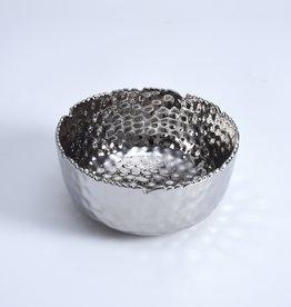 Medium Round Silver Bowl
