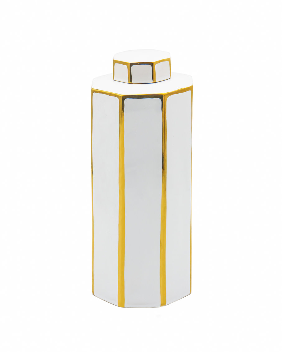 Aurora Gold Lines Large Vase