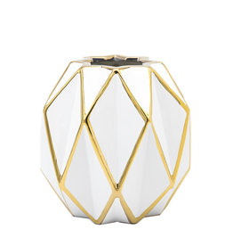 Aurora Gold Diamond Vase