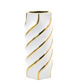 Aurora Gold Swirl Small Vase