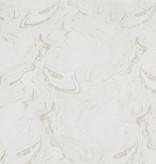 TC1327- 70 x 160 Jacquard White Gold Wave Tablecloth