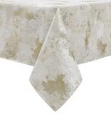 TC1329- 70 x 120 Jacquard White Gold Tree Tablecloth