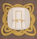 Gold Line Napkin Set of 6