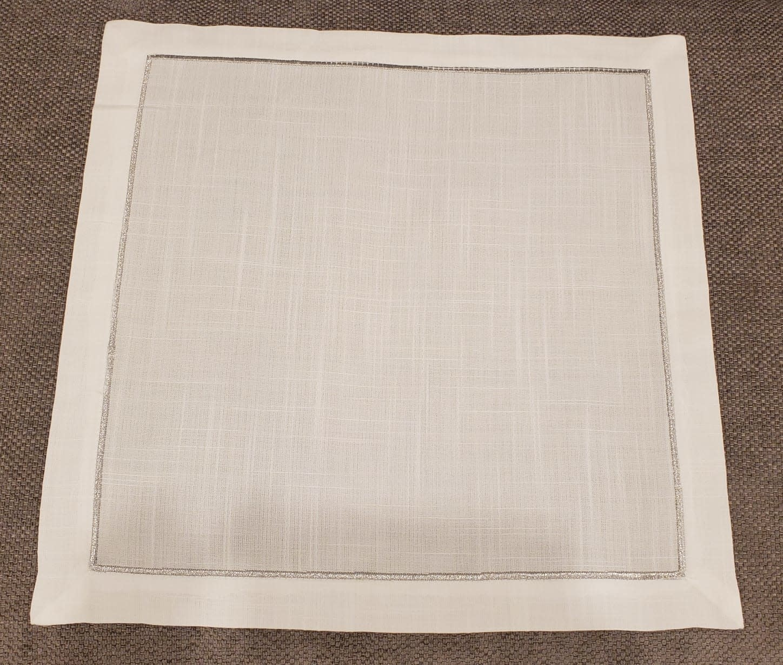 Silver Line Napkin Set of 6