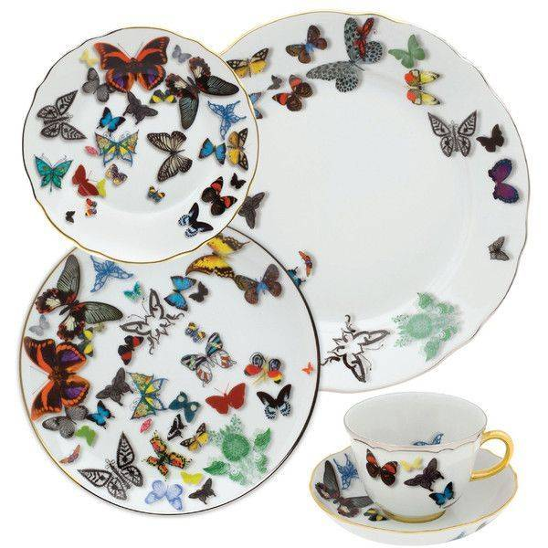 Vista Alegre Christian Lacroix Butterfly Parade Salad plate