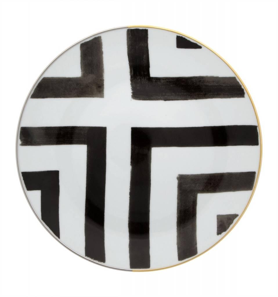 Vista Alegre Christian lacroix Sol Y Sombra Salad Plate