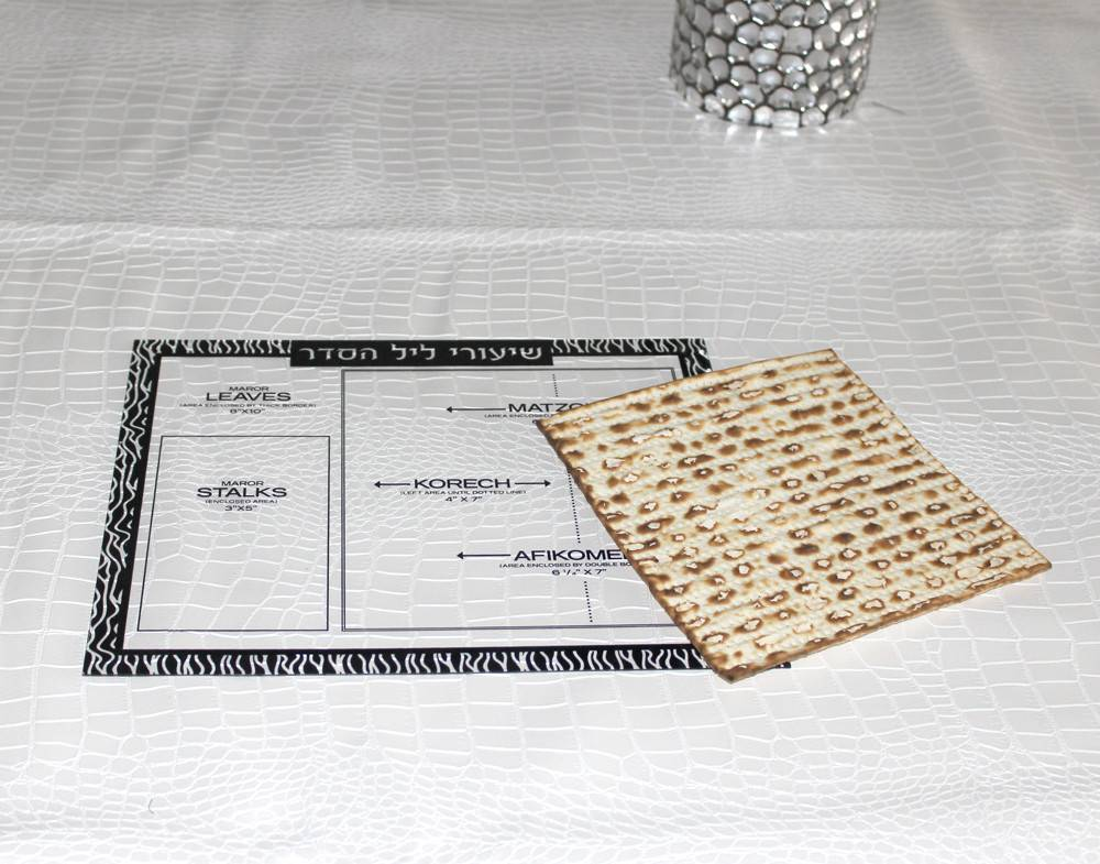 Waterdale Collection Pesach Shiurim Card