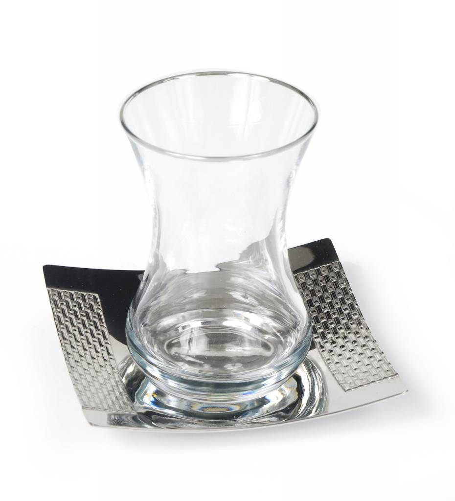 Seder Cups Nickel Plated Set of 6