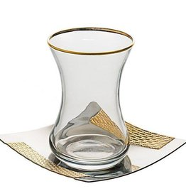 Seder Cups 24k Gold set of 6