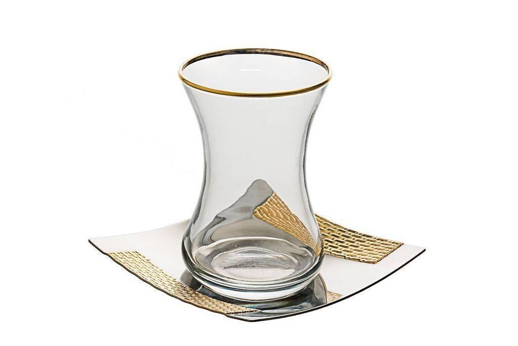 Seder Cups 24k Gold set of 6